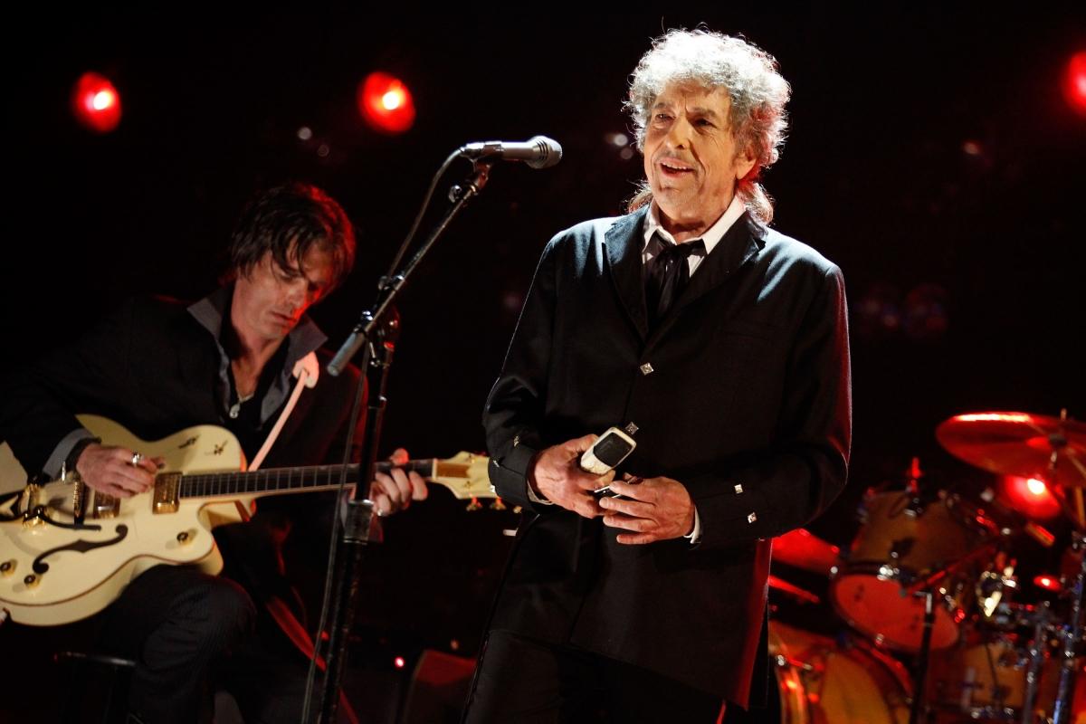 Musician Bob Dylan