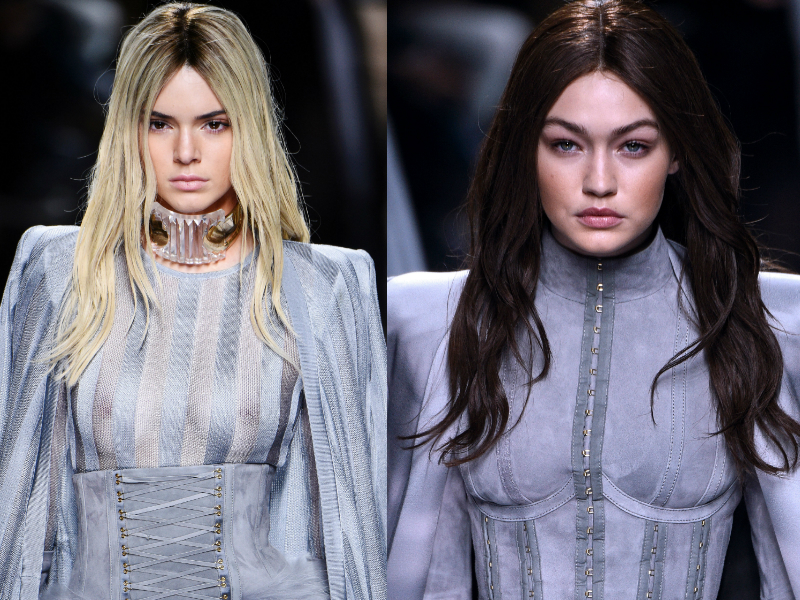 kendall and gigi swap hair colour balmain
