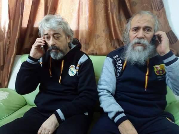 Gino Pollicardo and Filippo Calcagno