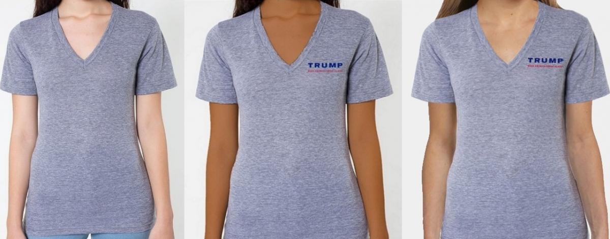 Donald Trump t-shirt photoshop