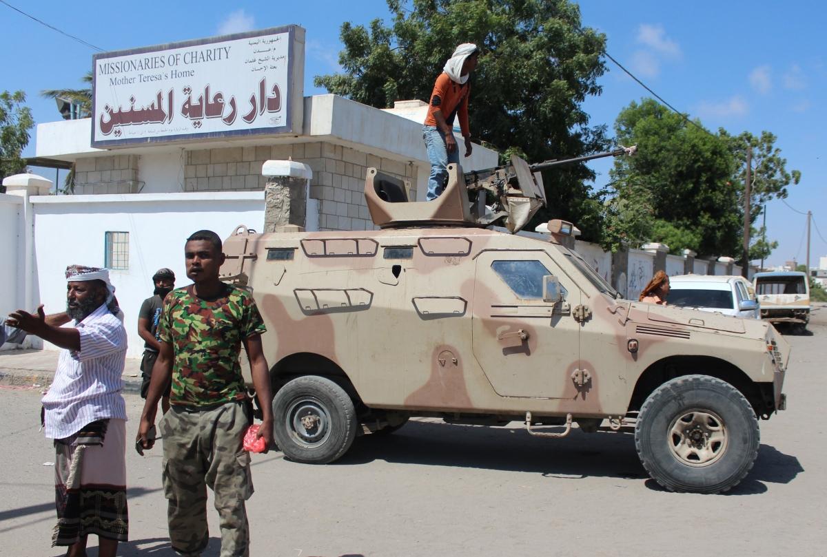 Yemen Aden Care Home Attacked