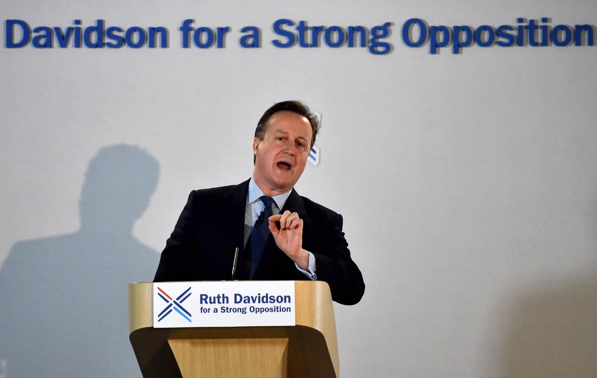 David Cameron, Scottish Conservatives