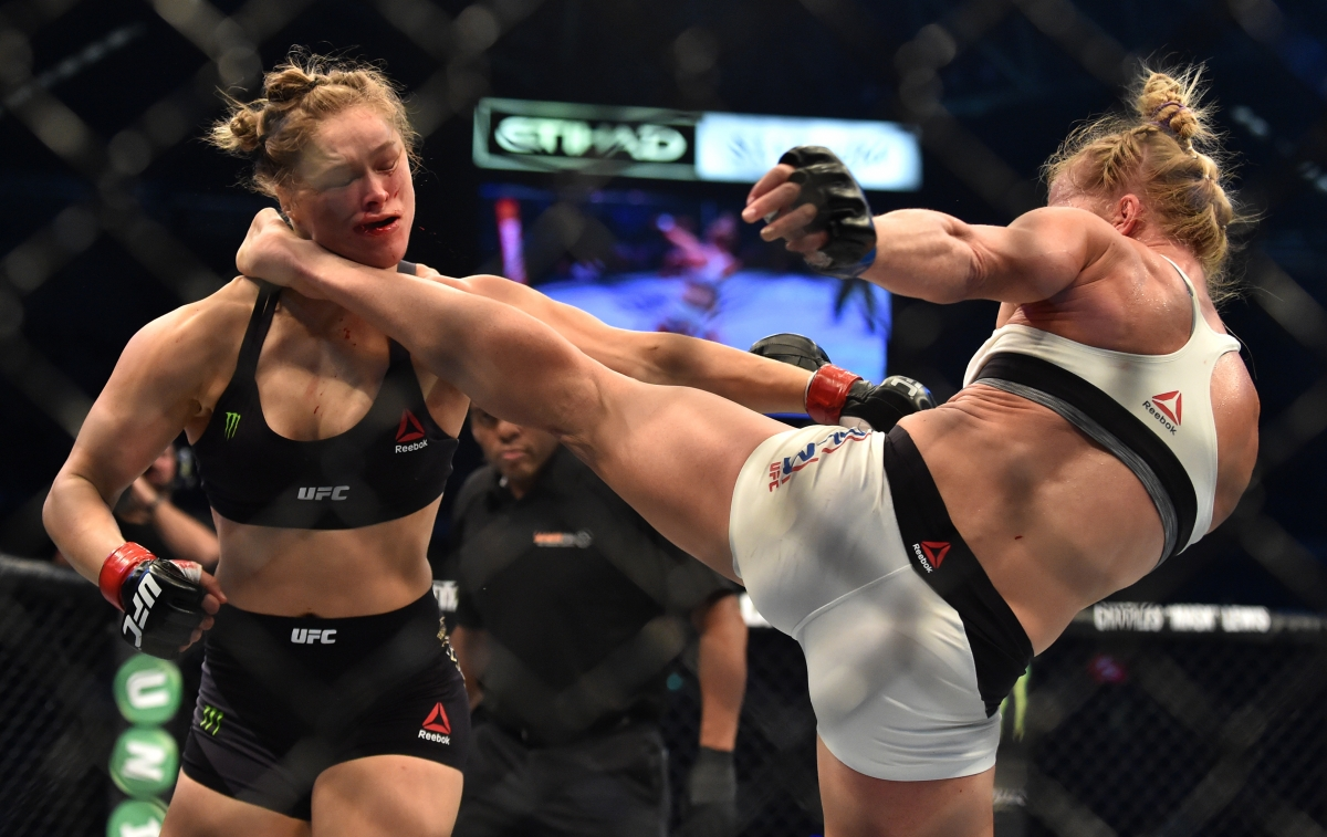 Holly Holm vs Ronda Rousey