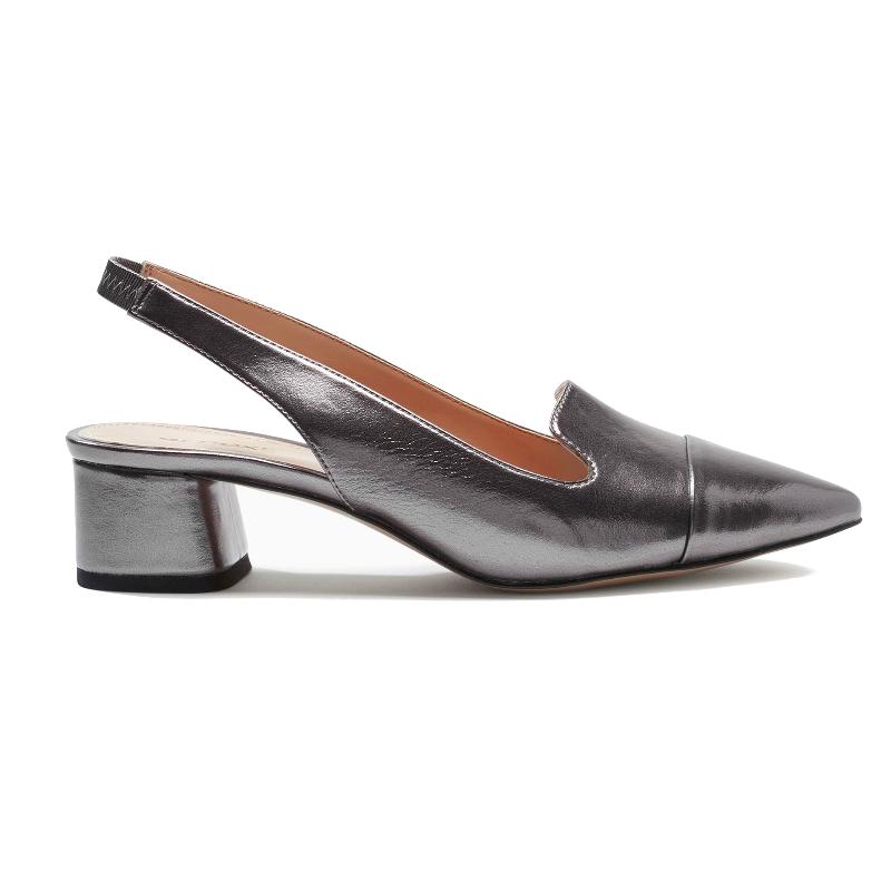 03ef73e6c47 ... Matchesfashion block heels Slingback Pointed Shoes ...