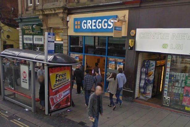 Leeds Greggs assualt 2