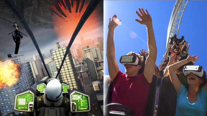 VR roller coasters to debut for the first time in the US