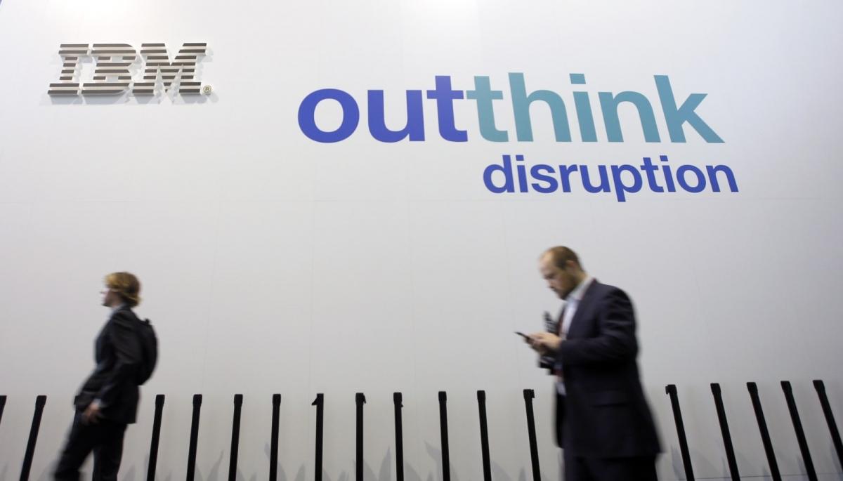 IBM logo Mobile World Congress 2016