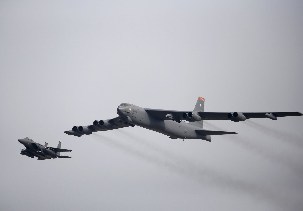 B52 Stratofortress bomber