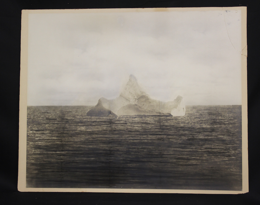 Iceberg which sank the Titanic