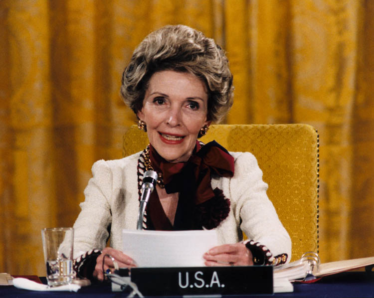 Nancy Reagan Drugs Abuse Conference 1985