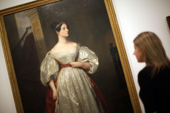 Ada Lovelace painting