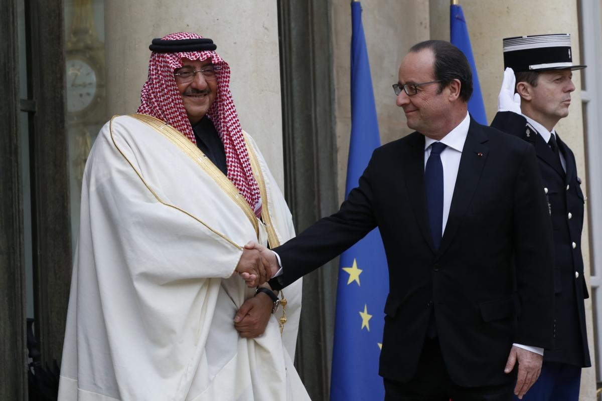 France Saudi crown prince top honour