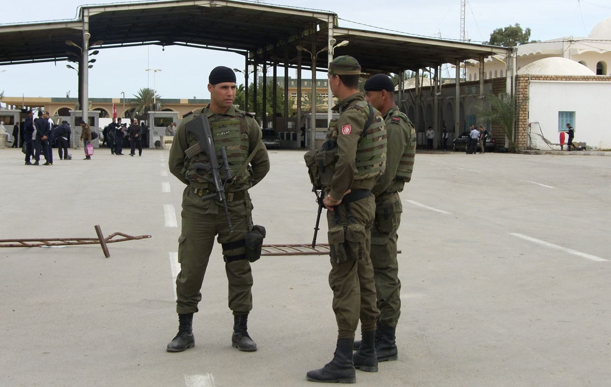 Ras Jedir border crossing