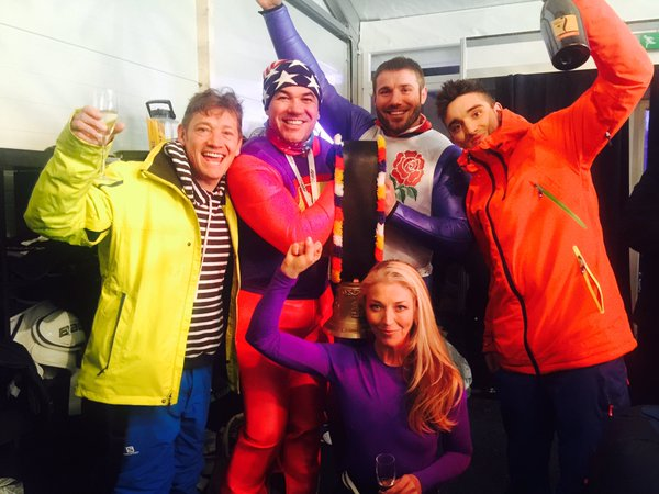 Ben Cohen on The Jump