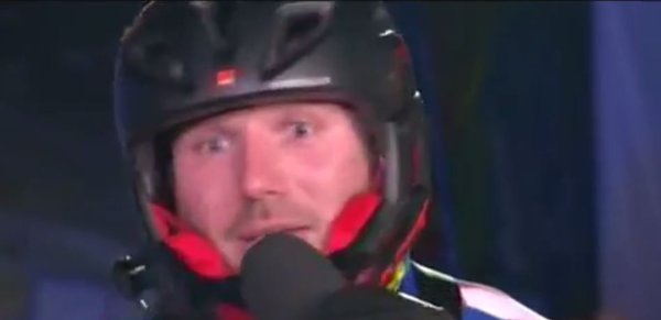 Ben Cohen swears on The Jump