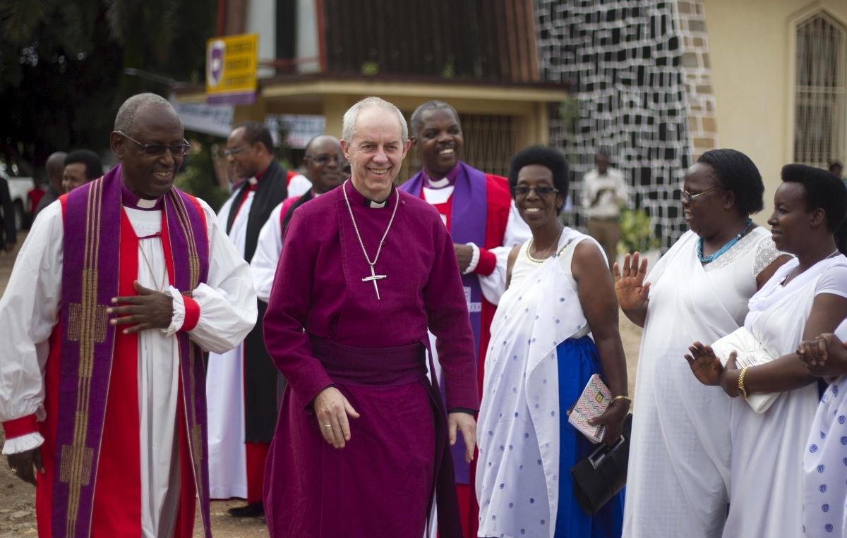 Arbishop of Canterbury in Burundi