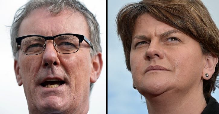 Mike Nesbitt and Arlene Foster