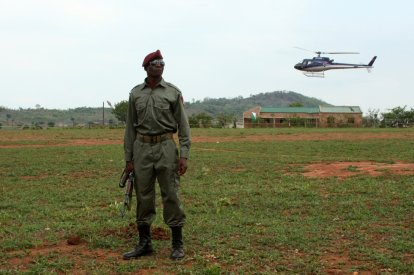 Mozambique government troops