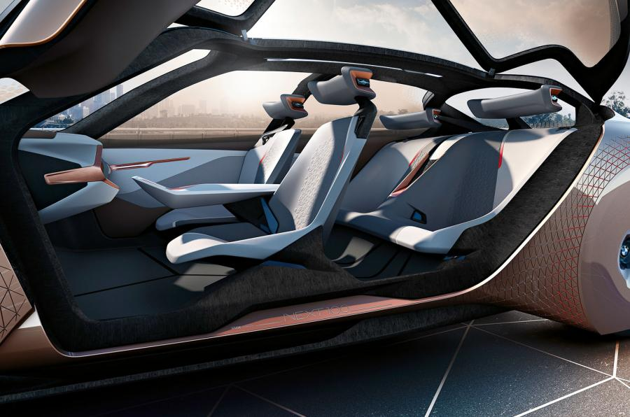 BMW Vision Next 100 interior