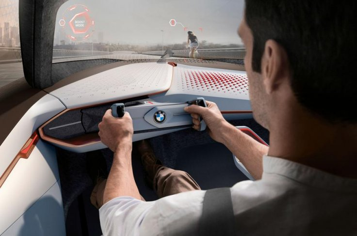 BMW Vision Next 100 interior
