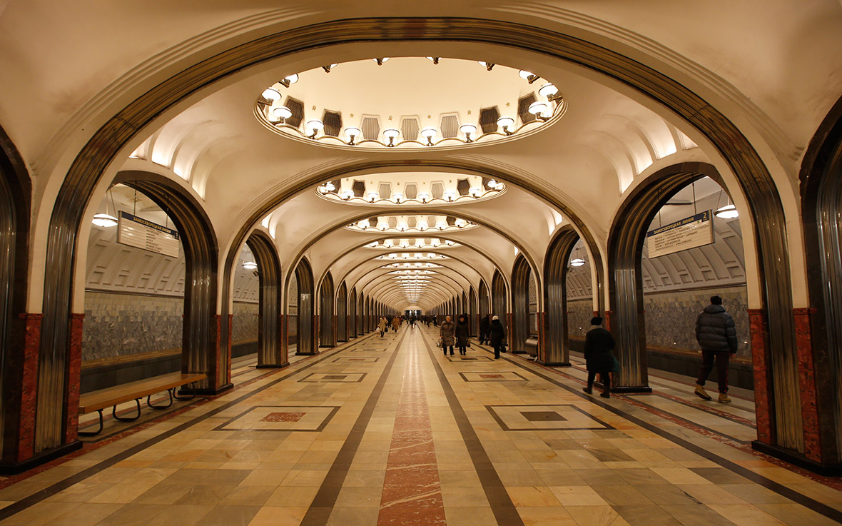 Underground Railroad Pictures A Station Of The: Moscow Metro Photos: Step Back In Time In The World's Most
