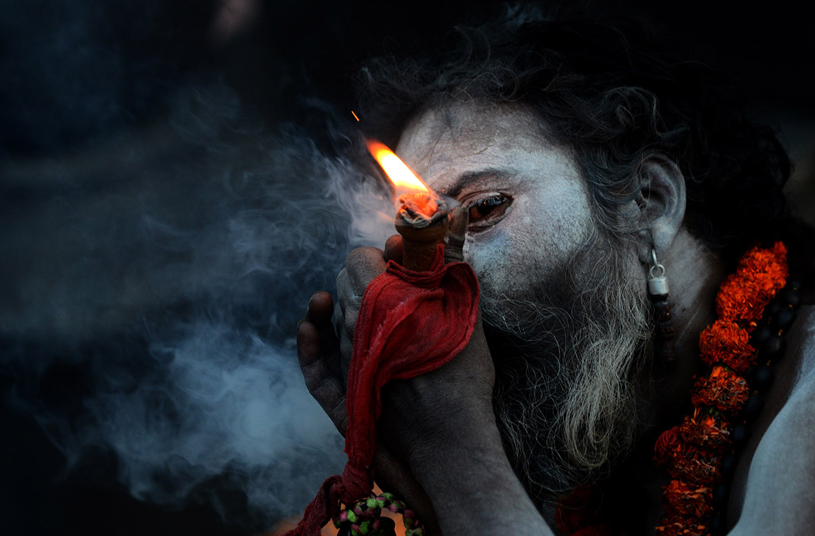 Maha Shivaratri Devotees Celebrate The God Shiva In One Of The Most