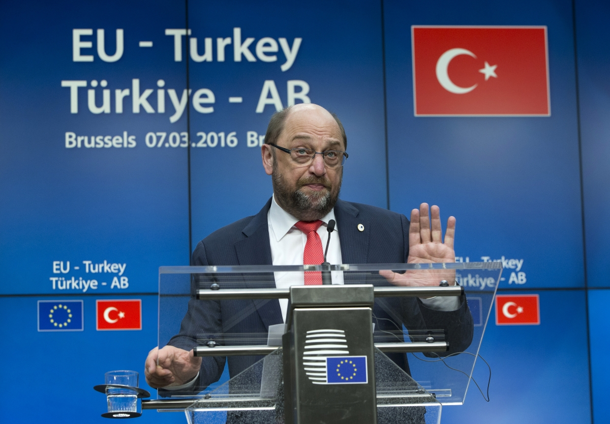 EU-Turkey summit Brussels