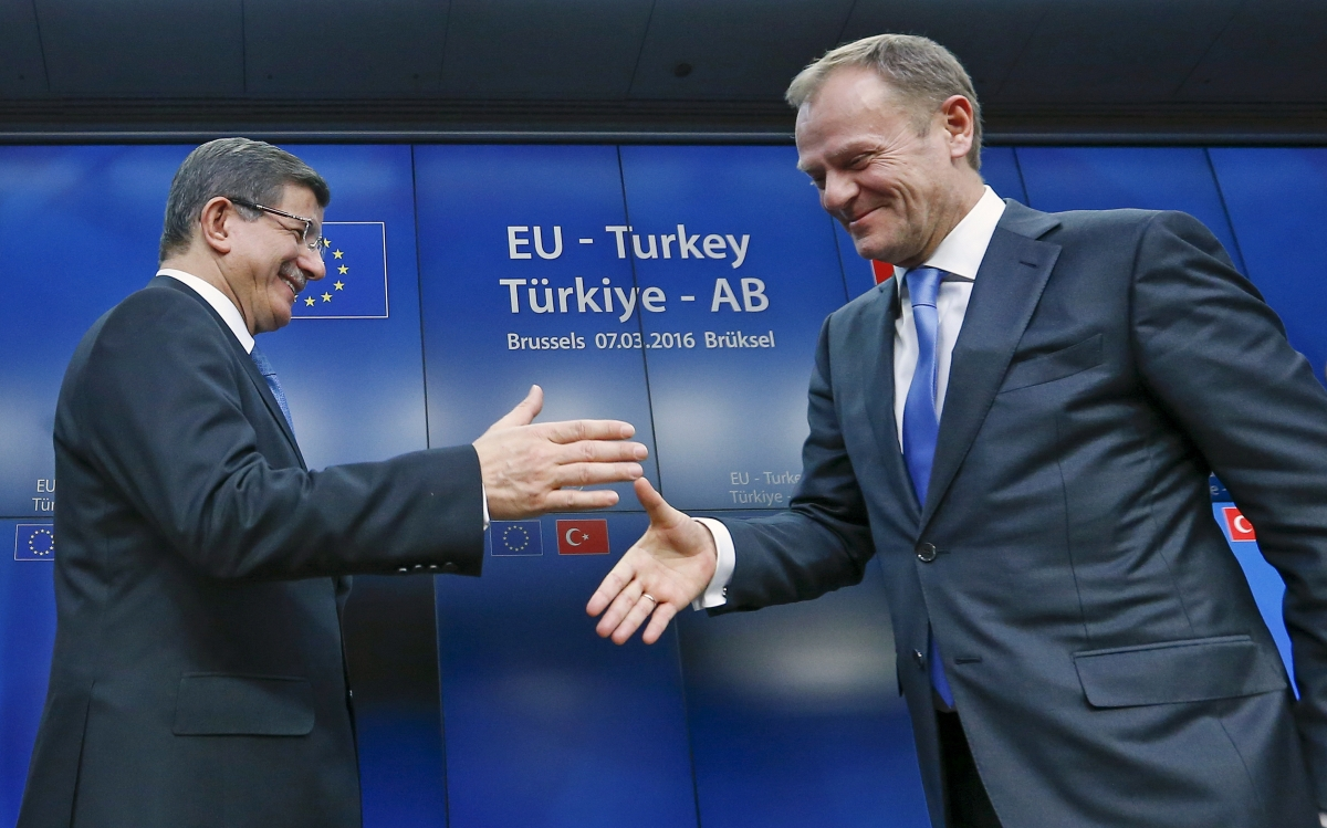 Turkey EU refugee deal