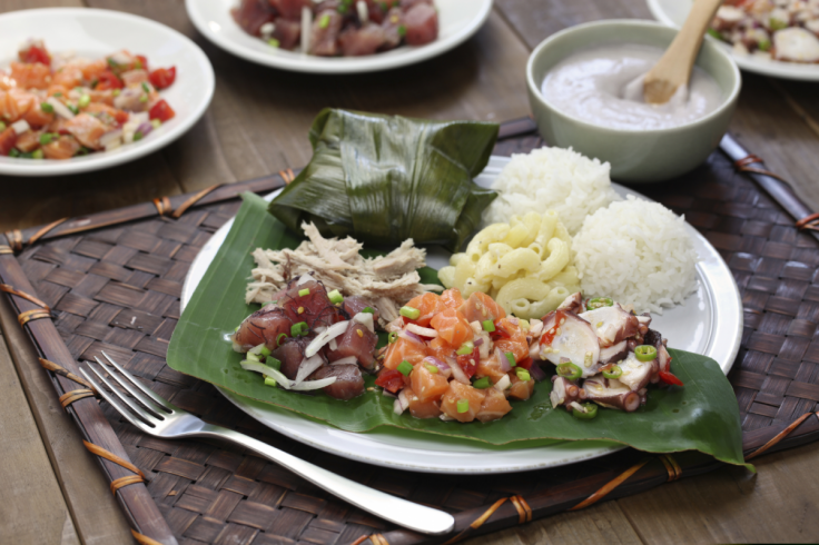 Poke - Hawaiian dish
