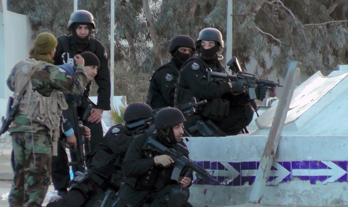 Tunisian special forces