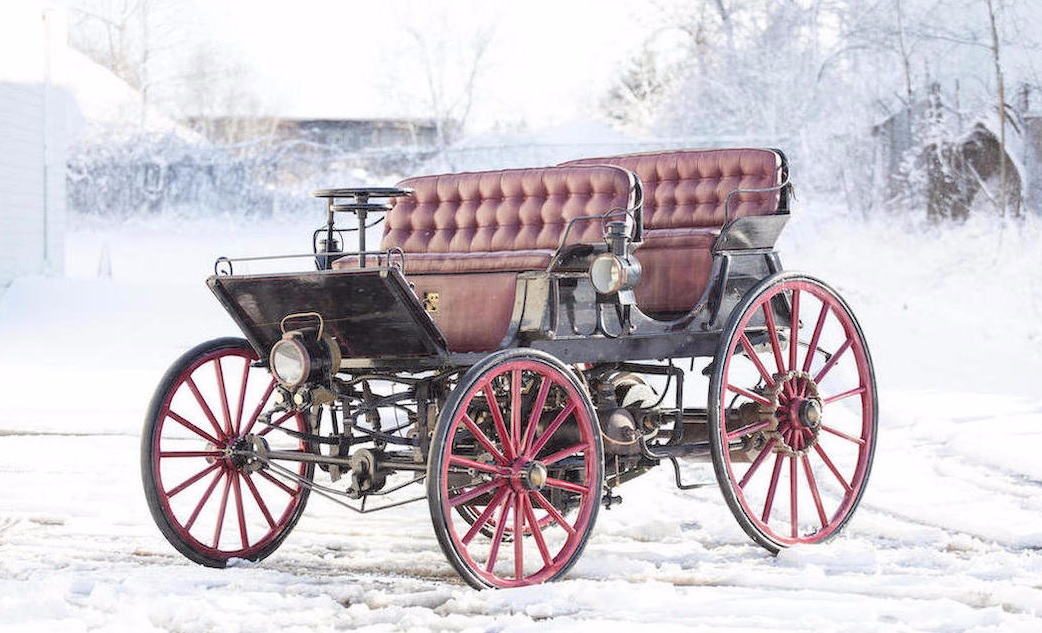 Armstrong Phaeton first hybrid car