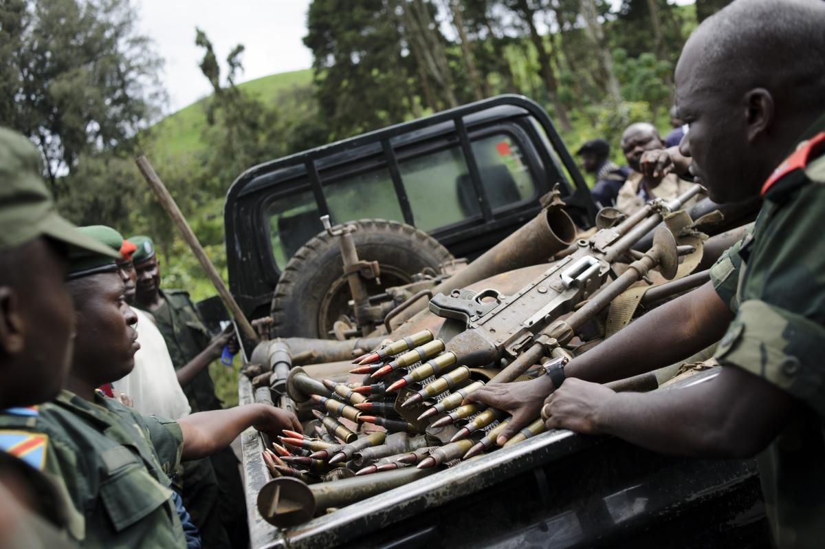 Virunga arms