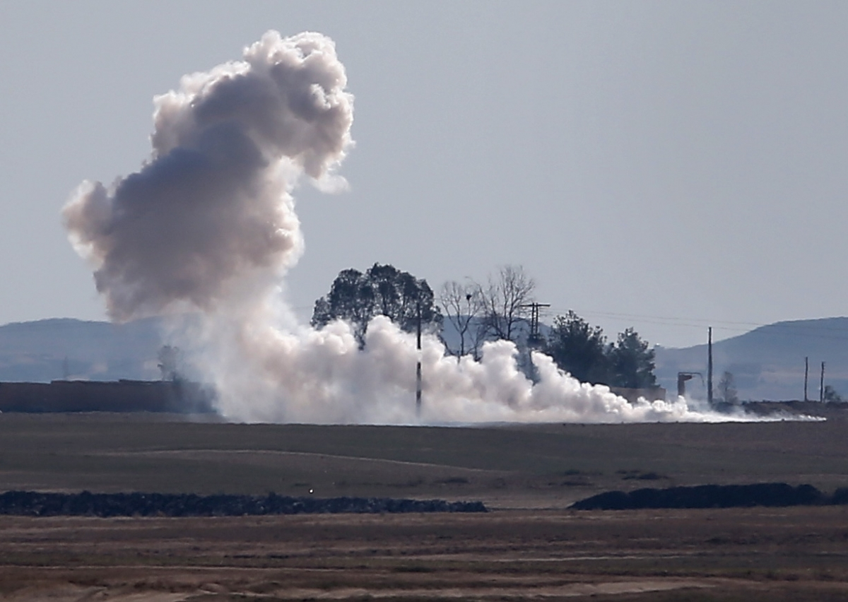 Turkey Syria shelling