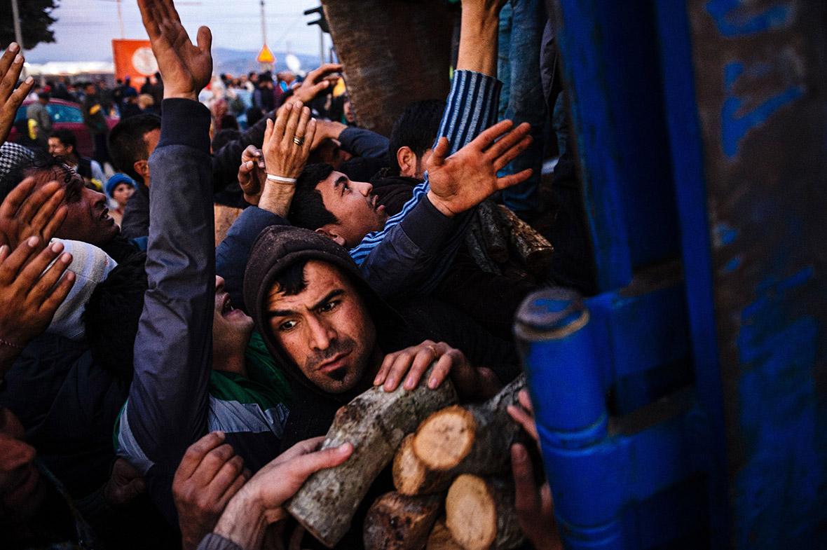 Refugees Greece Macedonia