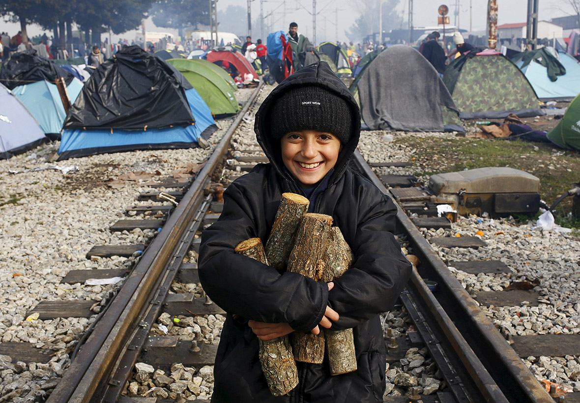 Refugees Greece Macedonia