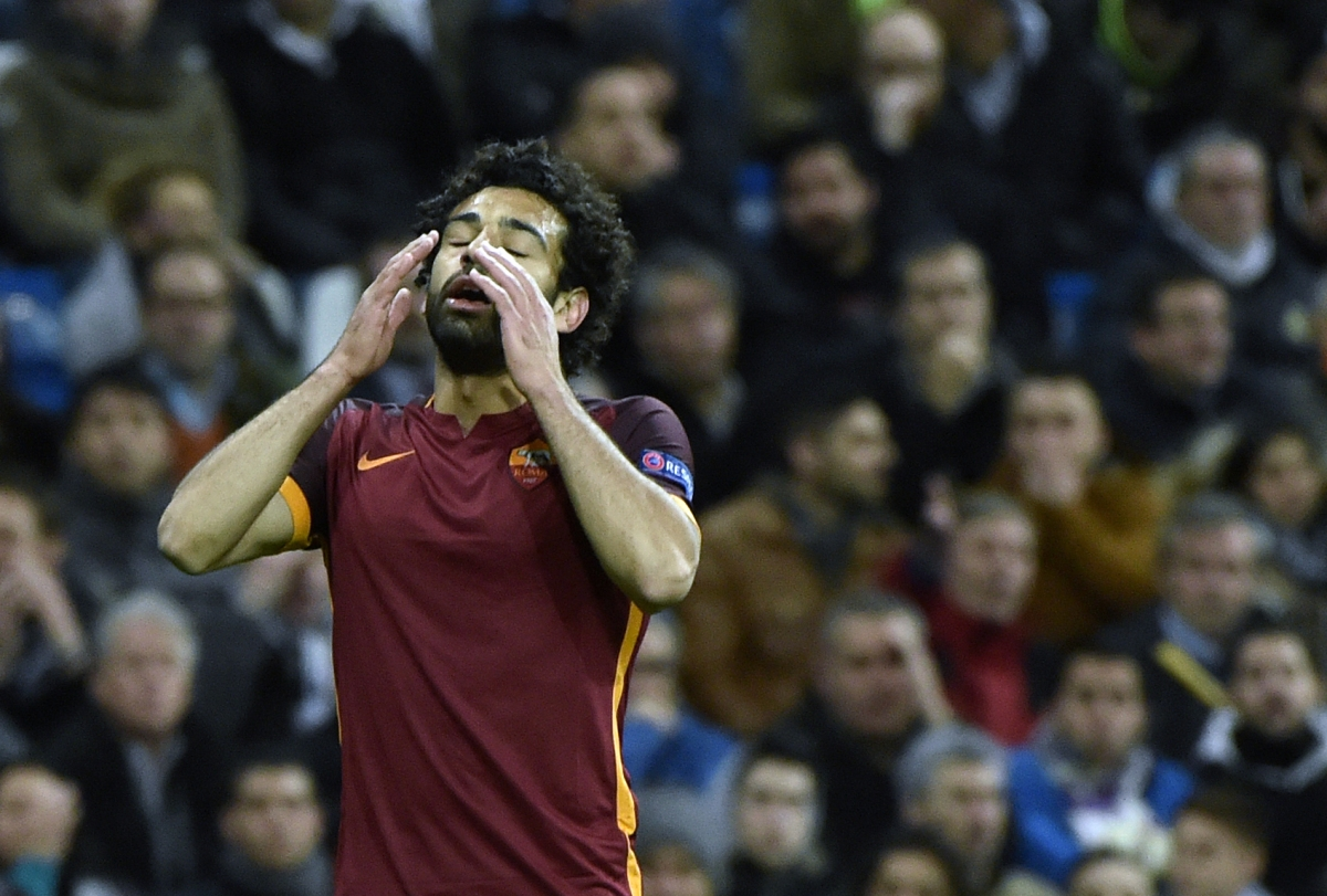 Salah rues another missed chance