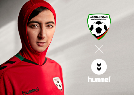 Afghan women's football team hijab jersey