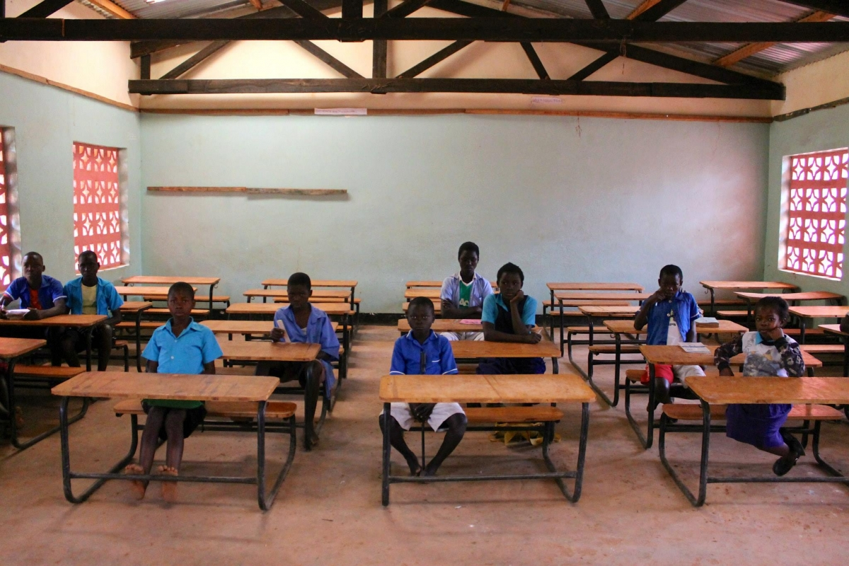 Primary school in Malawi