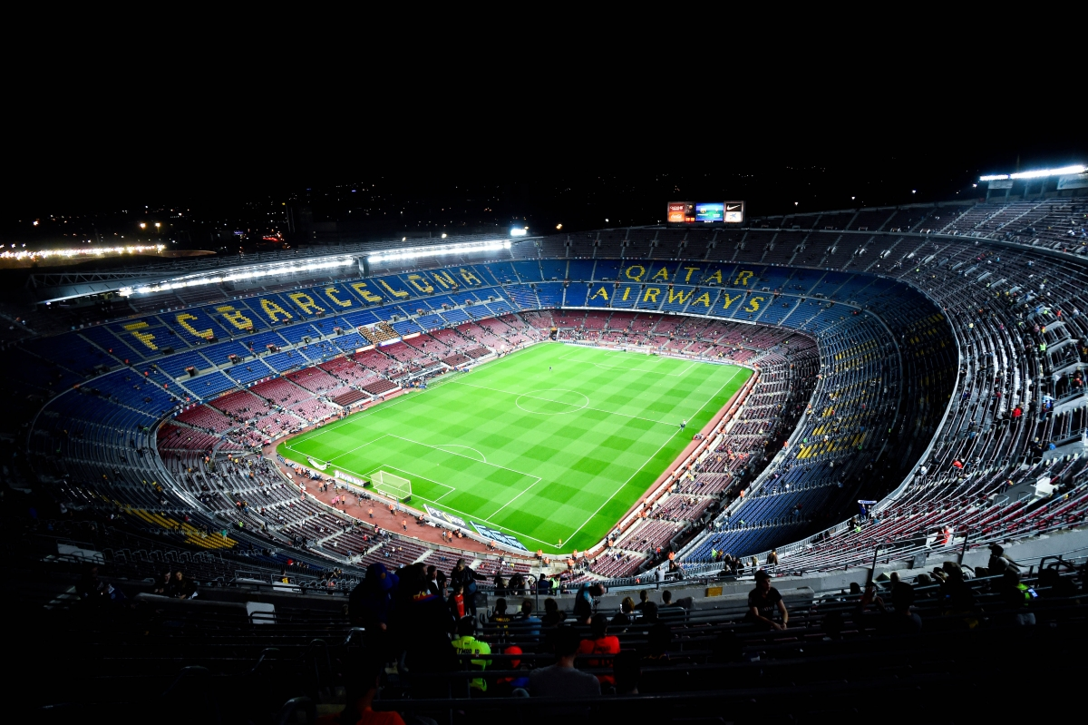 Nou camp expansion barcelona present new stadium - Camp nou 4k wallpaper ...