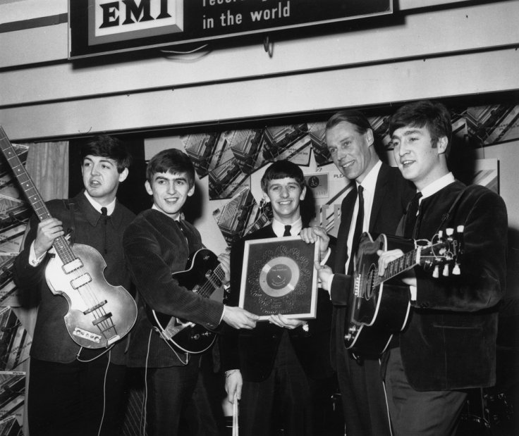 George Martin and The Beatles