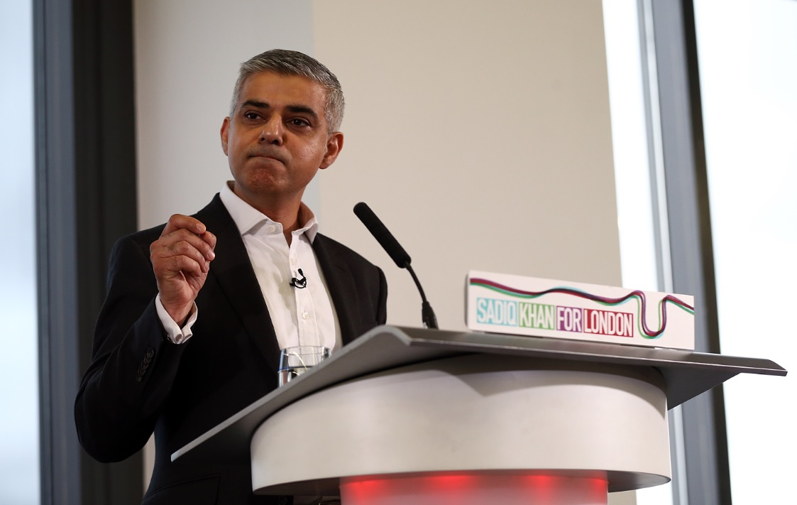 Labour candidate for City Hall Sadiq Khan