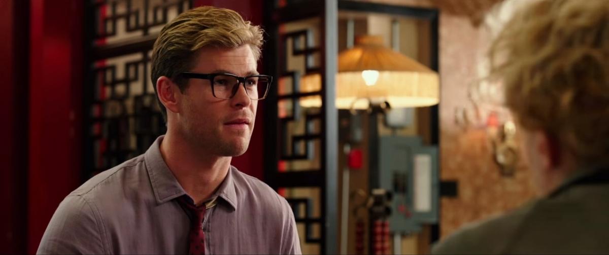 Chris Hemworth in Ghostbusters
