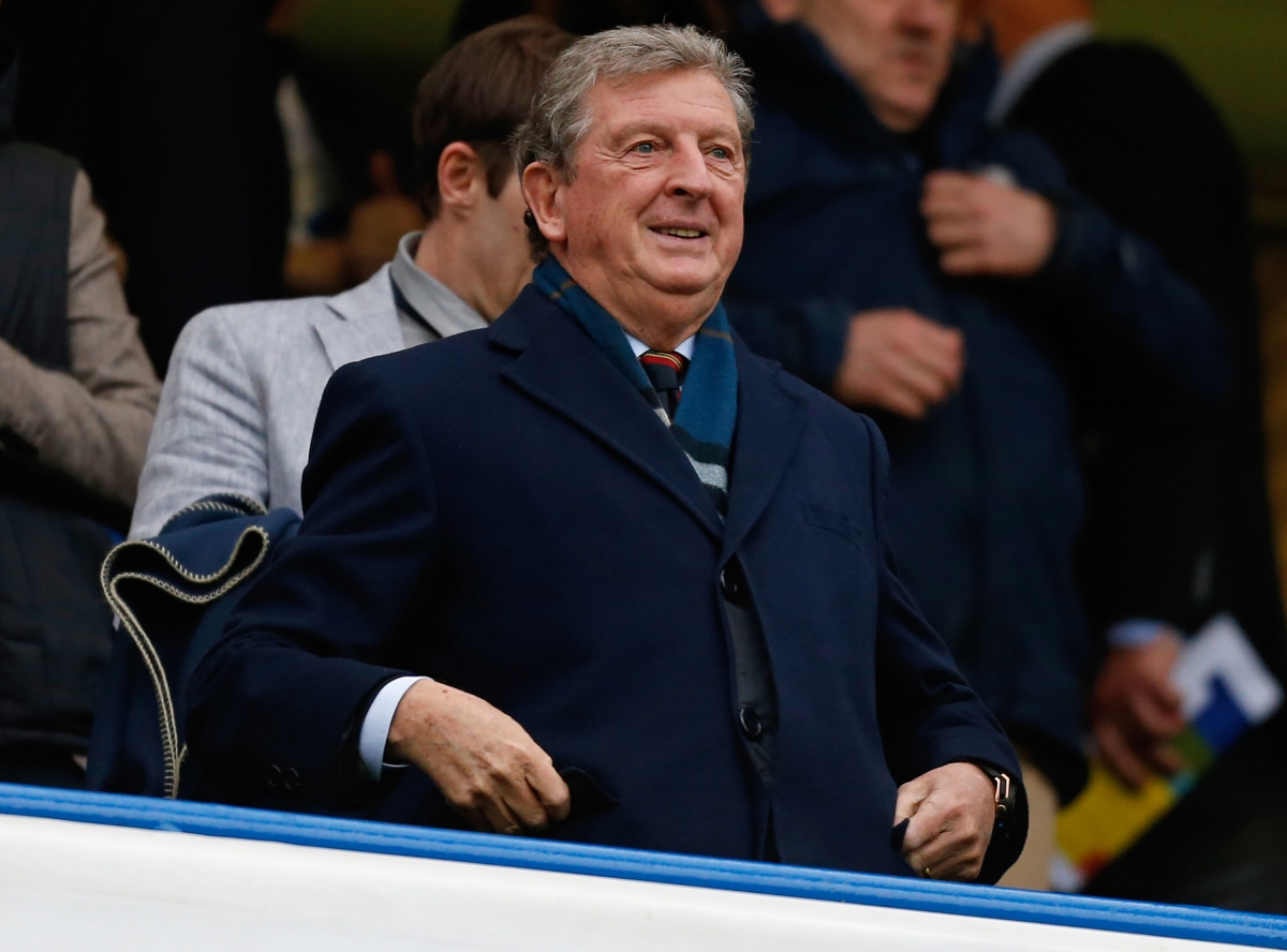 Roy Hodgson's contract expires this year