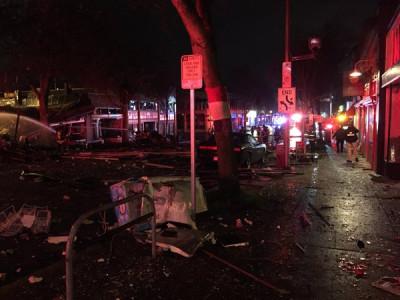 Seattle Greenwood Explosion