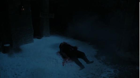 jon snow dead season 6 game ofthrones