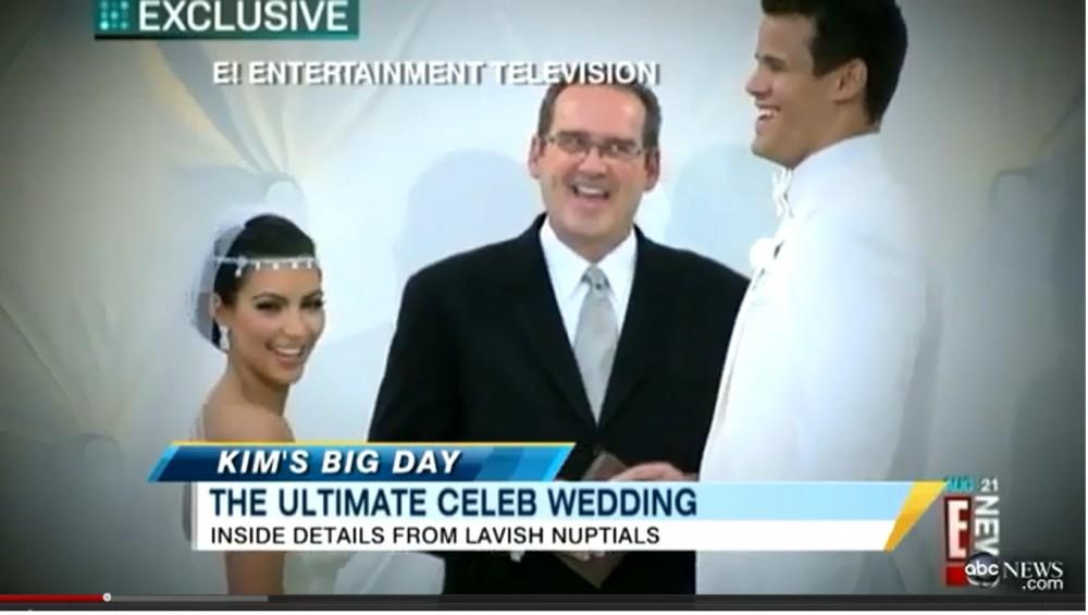 Kim Kardashian Wedding 2011