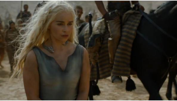 Daenerys gets lead astray