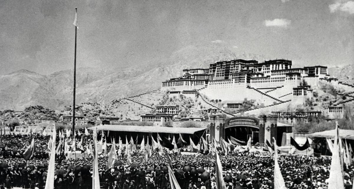 Tibetan uprising 1959