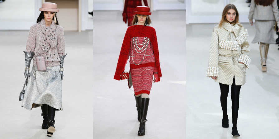 Paris fashion week chanel valentino