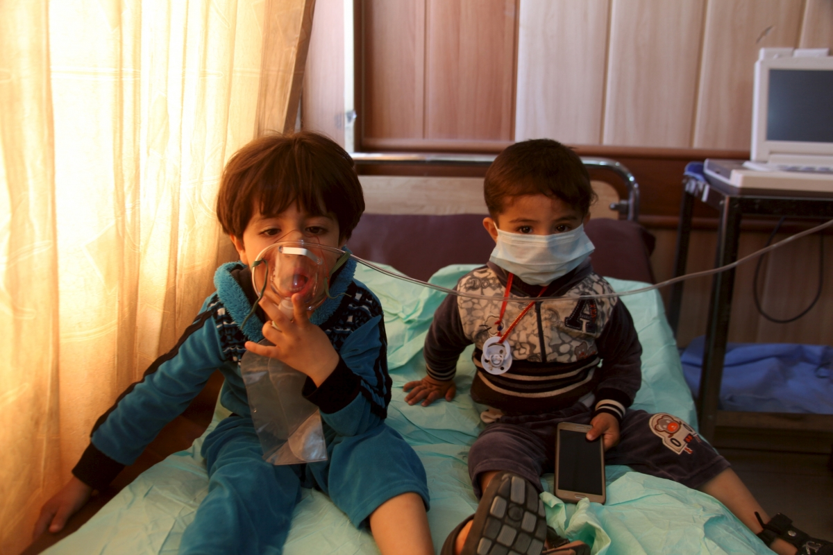chemical weapons in Iraq